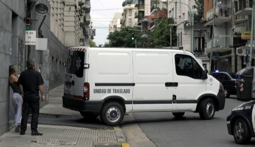AFP/Archives / ALEJANDRO PAGNI  Una ambulance à Buenos Aires, en janvier 2015