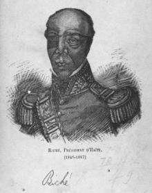 Jean-Baptiste Riche, ancien président d'Haiti