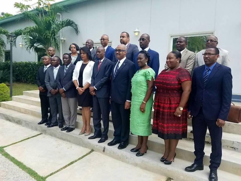Le cabinet ministériel de l'administration Moise/Lafontant