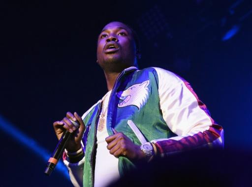 GETTY IMAGES NORTH AMERICA/AFP/Archives / RICK DIAMOND  Le rappeur américain Meek Mill lors d'un concert le 24 mars 2017 à Atlanta, en Géorgia