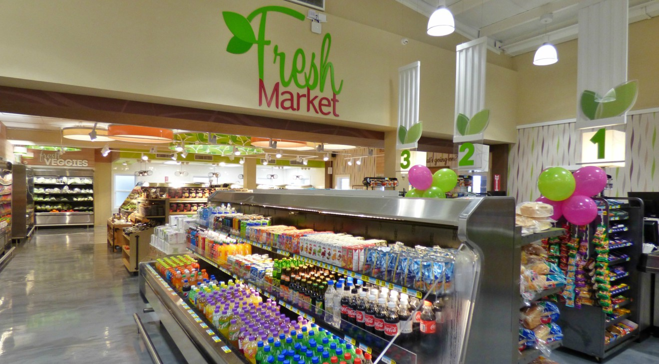 Fresh Market Grocery, located in The Villages at Coverley, is celebrating one year of operations.