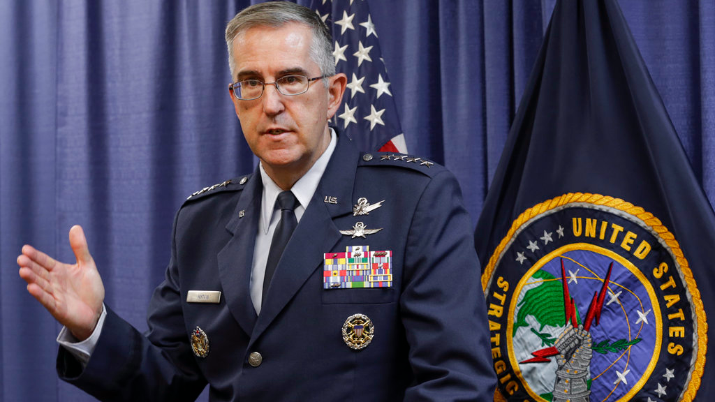 USA nuclear commander says he would resist 'illegal' order from Trump
