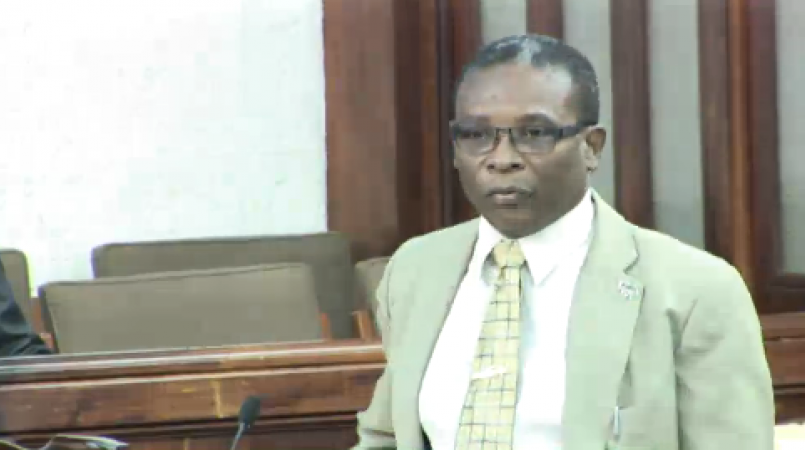 FILE - Minister of Housing and Lands, Denis Kellman.