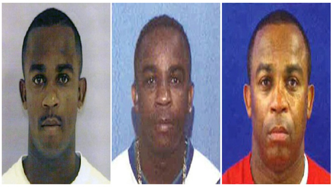 This combo of photos from June 24, 1997, left, July 7, 2004, center, and July 31, 2013, provided by the U.S. Department of State shows a man whom officials refer to as John Doe. The Diplomatic Security Service is trying to identify Doe, a foreign national who has been living for at least 20 years as an American citizen whose identity he stole.