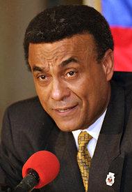 L'ancien Premier Ministre Smark Michel, décédé le 1er septembre 2012