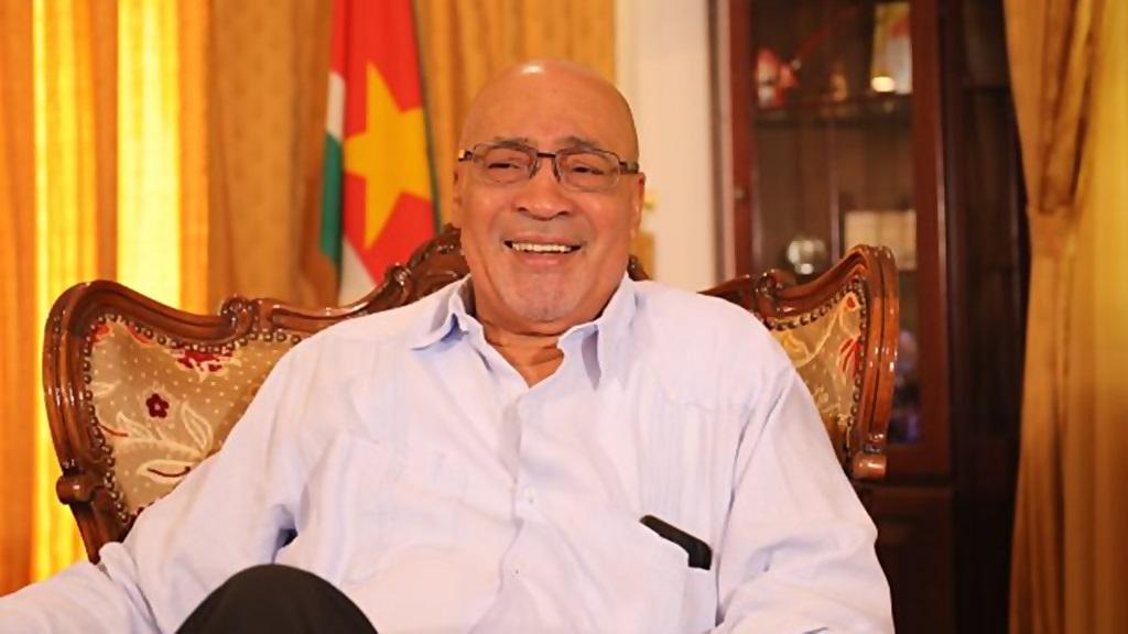 President Desi Bouterse. Foto: NII.