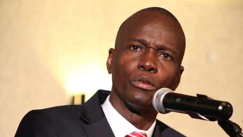 Le président de la République d'Haiti, Jovenel Moise