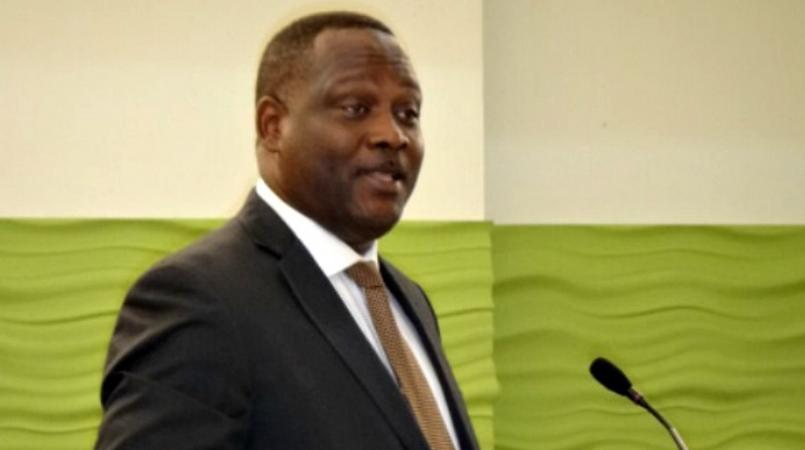 FILE - Minister of International Business, Donville Inniss.