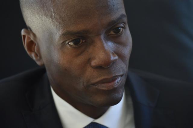 Le président Jovenel Moise. Photo: France Ouest