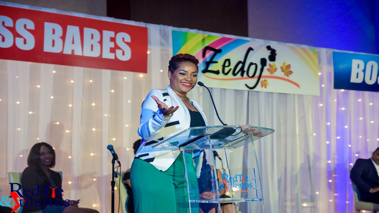 Jodianne Murdock, CEO of Zedoj Group and conceptualizer of the event.