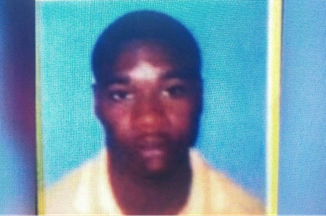 The new photo from the police for Davion Brown, o/c 'Balti', one of the top five most wanted men in the country.