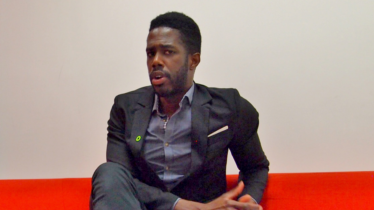 Barbadian Carlton Cummins, co-founder of Aceleron.
