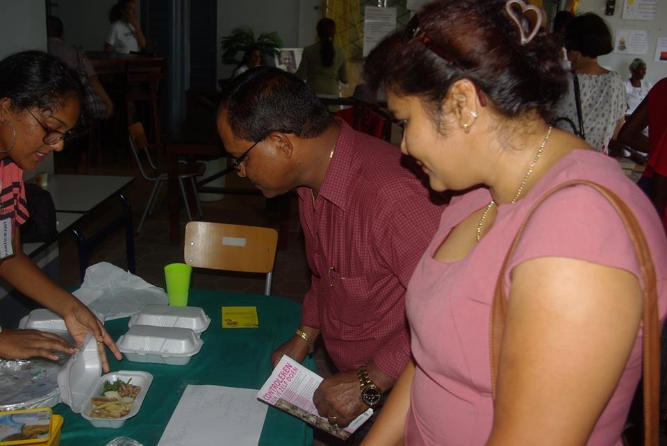 Diverse organisaties zullen ook informatie verstrekken over gezonde voeding en welzijn.