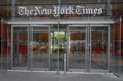 AFP/Archives / DON EMMERT  Les responsables du journal indiquent que, dans l'attente des conclusions de leur propre enquête, Glenn Thrush a été suspendu de ses fonctions