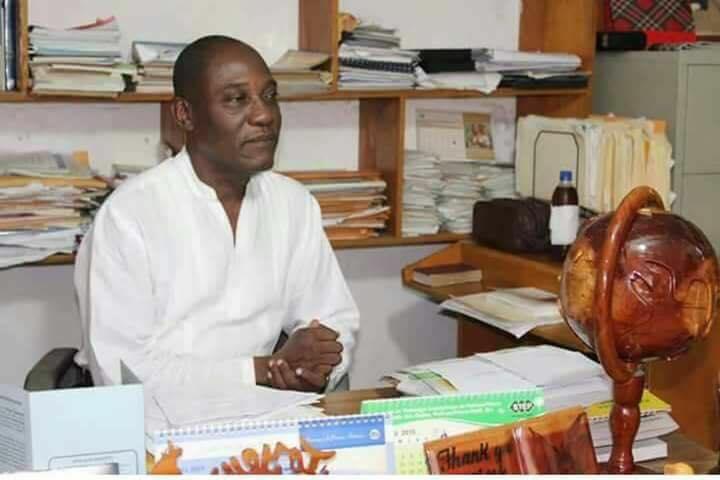 Le diacre Armand Louis, directeur du College Evangélique Maranatha