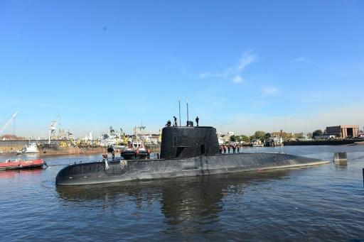 ARGENTINE NAVY/AFP/Archives / Handout  Photo transmise par la marine argentine du sous-marin militaire argentin San Juan en 2014