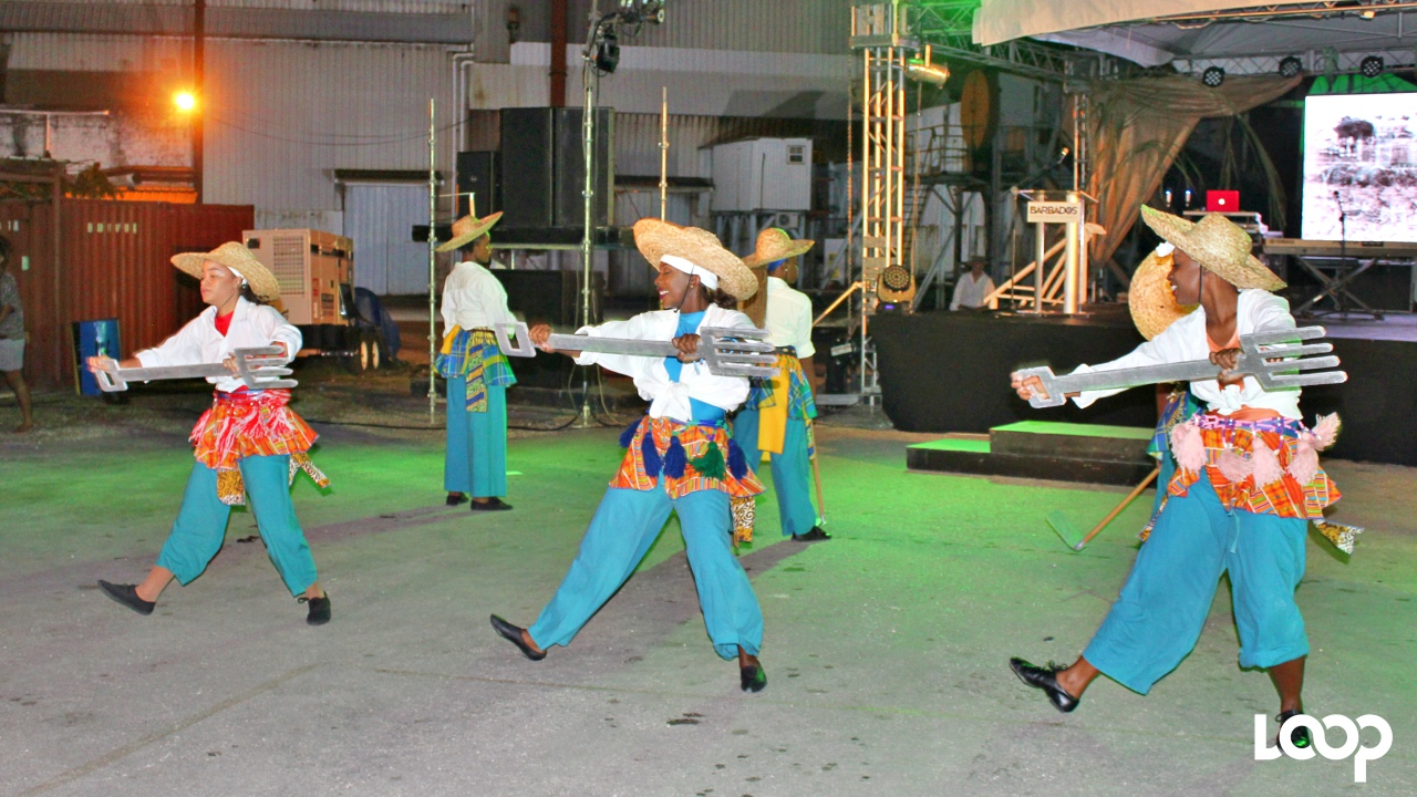 Dancers perform at the launch of the Sugar & Rum Season on Monday night.