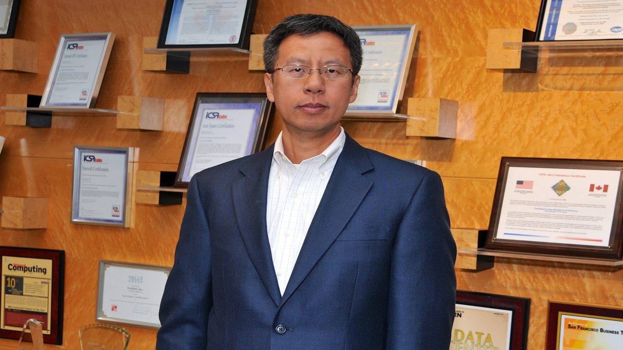 Fortinet's founder, President and CTO Michael Xie