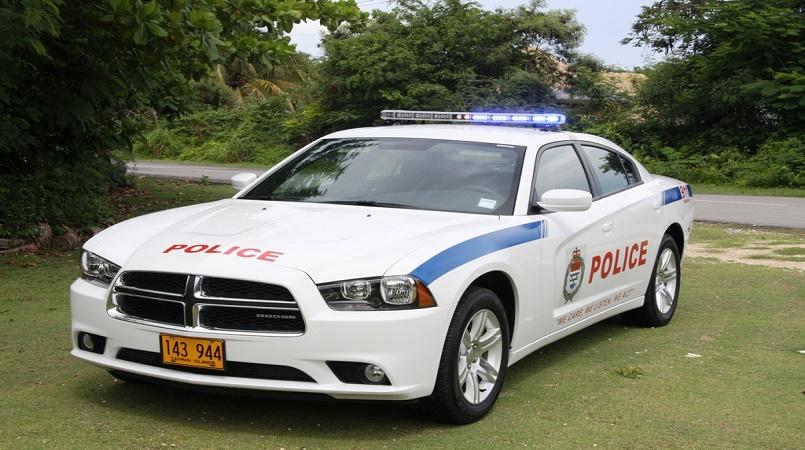 A Royal Cayman Islands Police Service patrol car