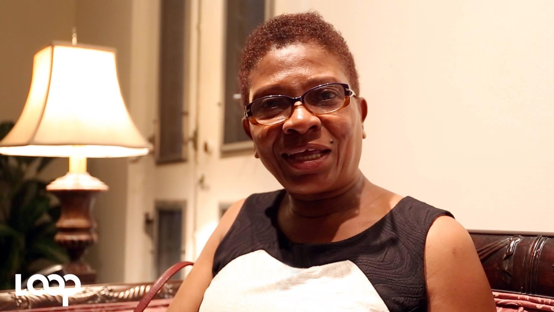 Marie Louise Gauthier, coordonnatrice des affaires féminines de la Police Nationale d'Haiti. Photo : Estailove St-Val