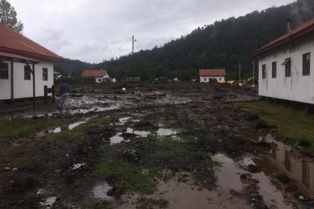 Chili - Un village entier englouti par une coulée de boue