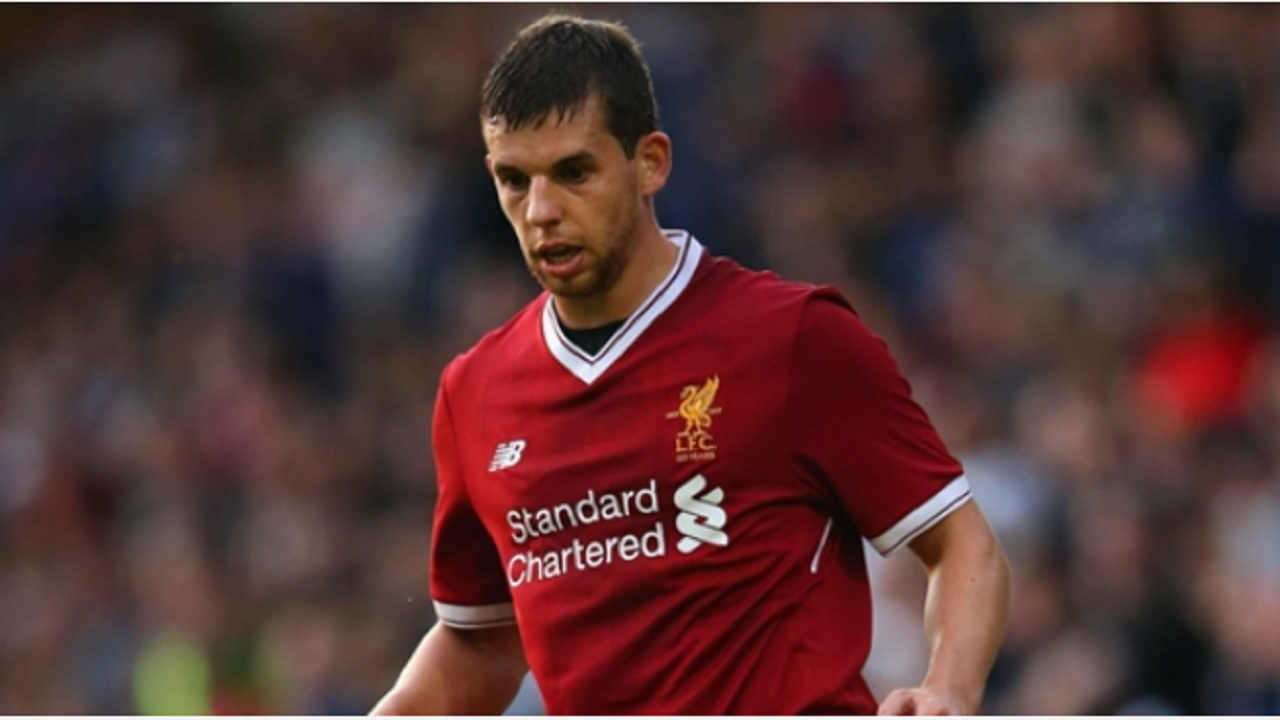 Liverpool defender Jon Flanagan.