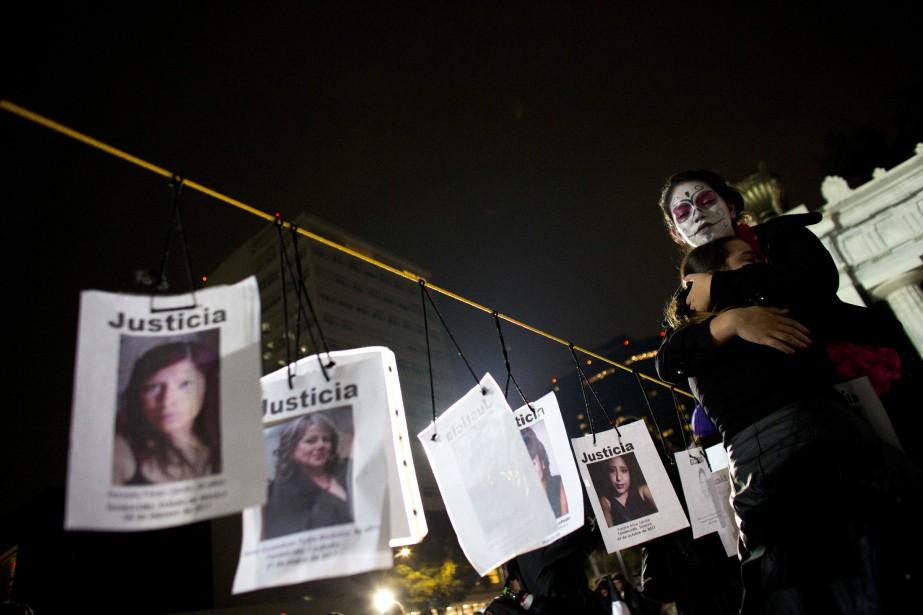 Cinq États du Mexique ont enregistré à eux seuls 40,2% des morts violentes de femmes l'an dernier.