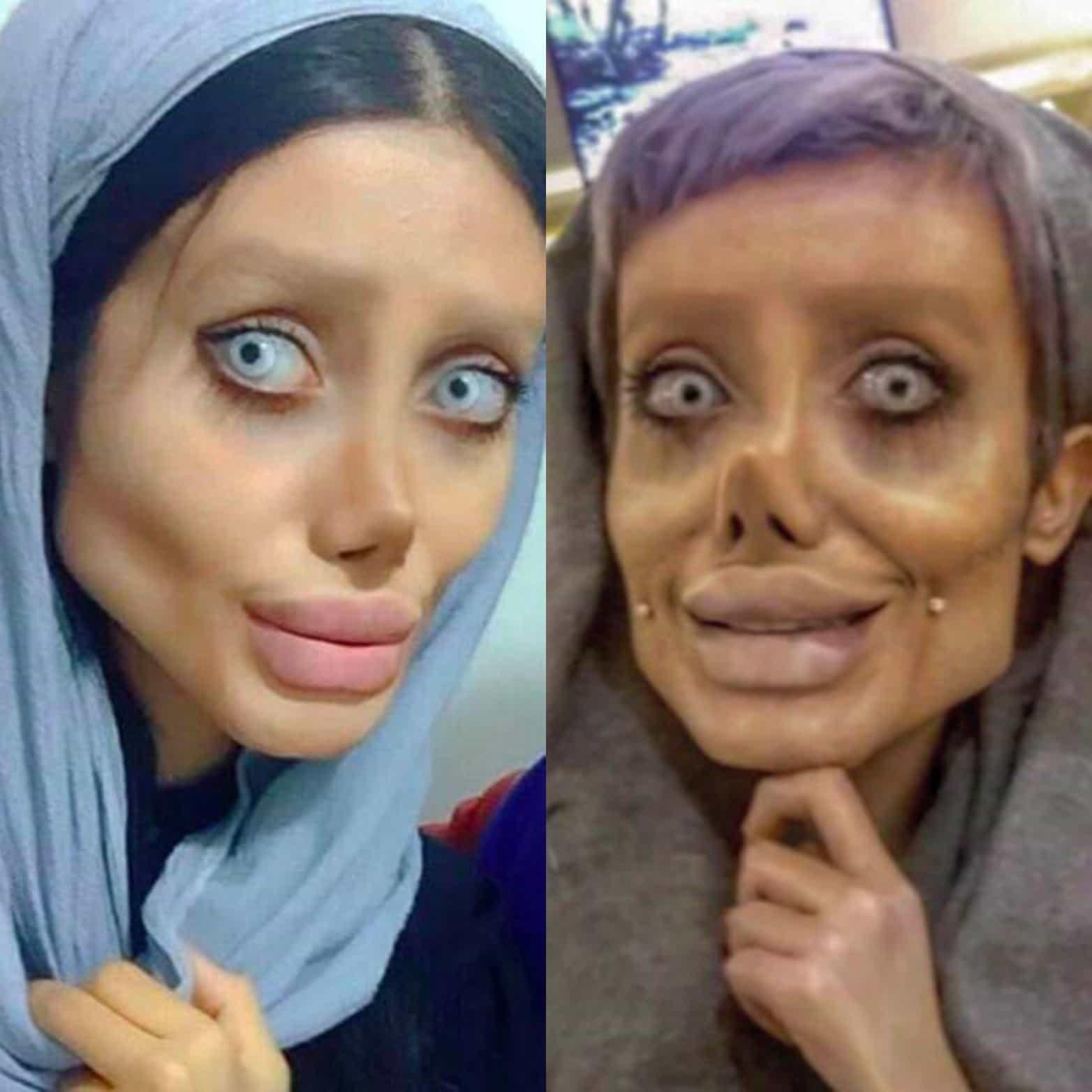 Sahar Tabar Makeup >> Elle a subi 40 opérations pour ressembler à Angelina Jolie | Loop News