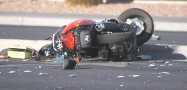 A motorcycle collision (file photo)