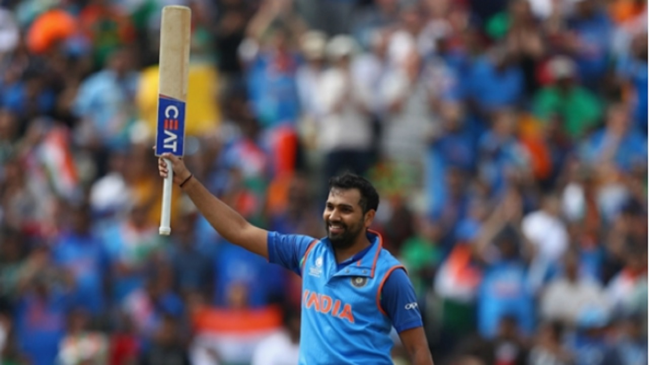India's stand-in captain Rohit Sharma.