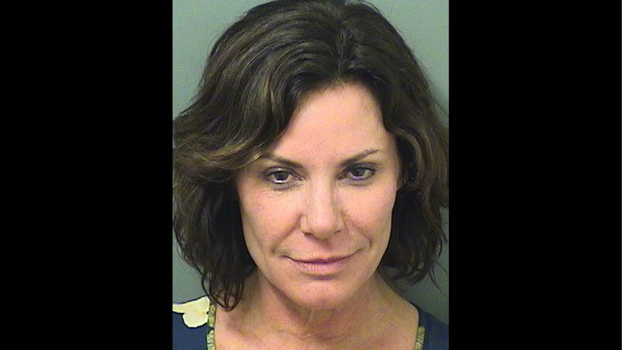 "This photo provided by the Palm Beach County Sheriff's Office, shows Luann de Lesseps, a star of the reality television series ""The Real Housewives of New York City"". (Palm Beach County Sheriff's Office via AP)"