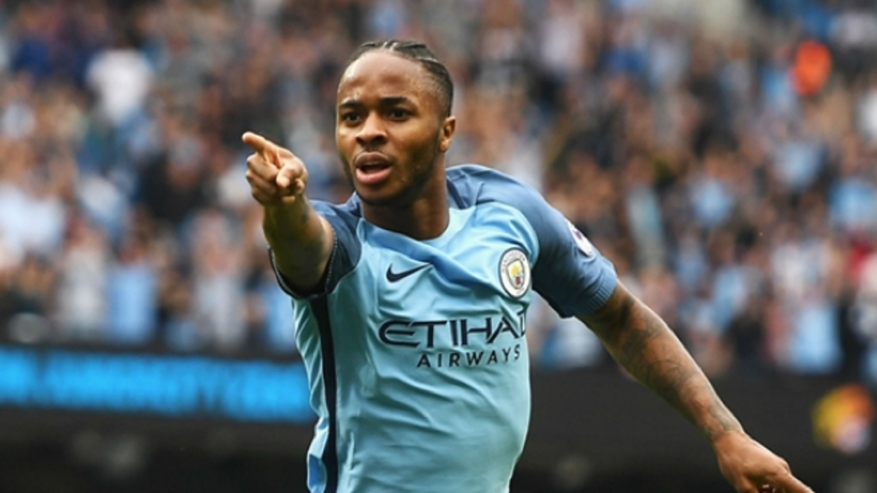 Manchester City star Raheem Sterling