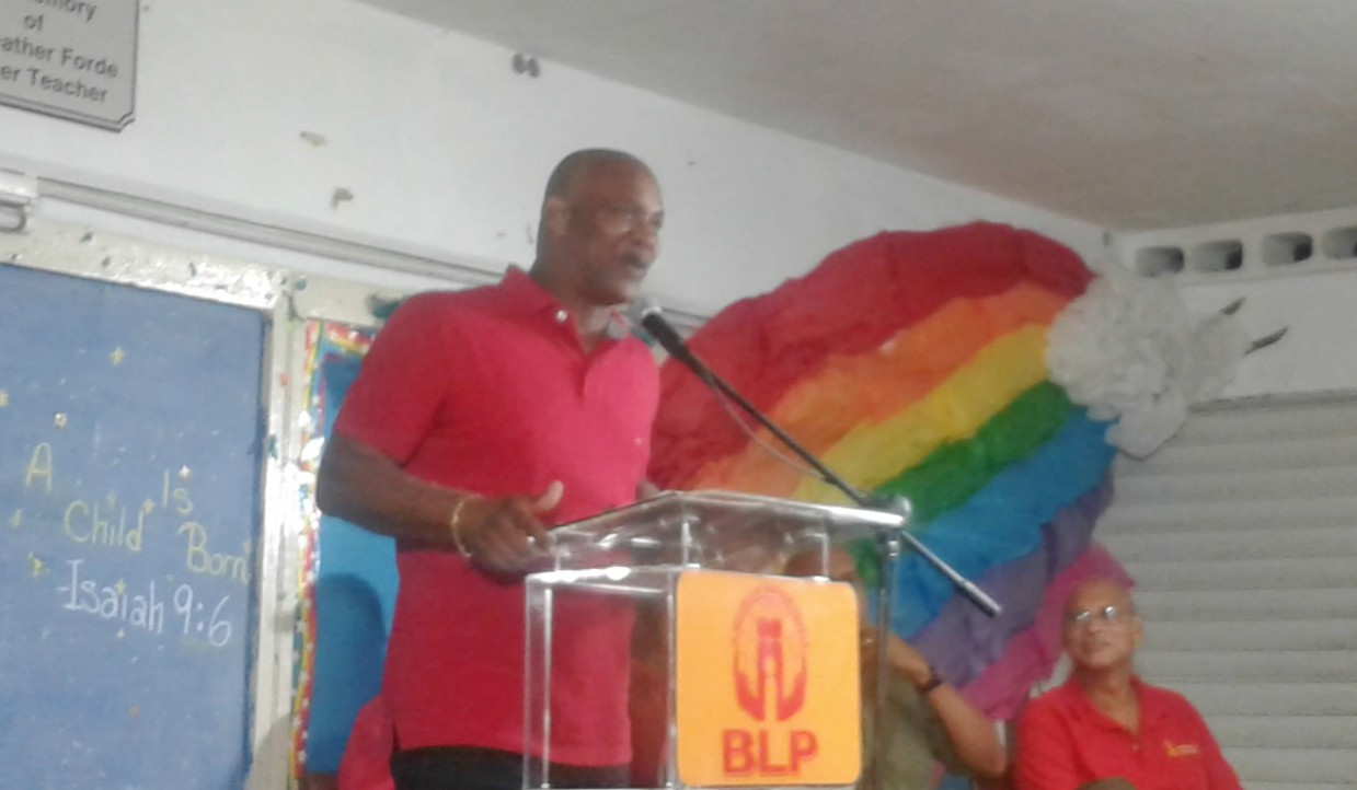 Dale Marshall of the Barbados Labour Party (BLP)