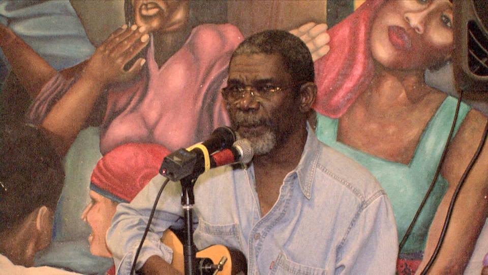 Le chanteur Manno Charlemagne décédé le 10 décembre 2017, à Miami.