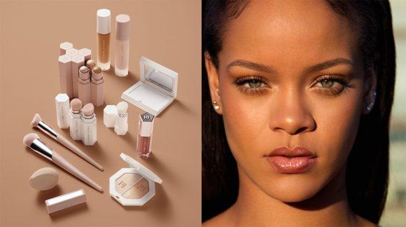 Rihanna et sa ligne de maquillage Fenty Beauty parmi les plus belles inventions de 2017, selon le magazine Time qui  a fait sa Une avec la star barbadienne