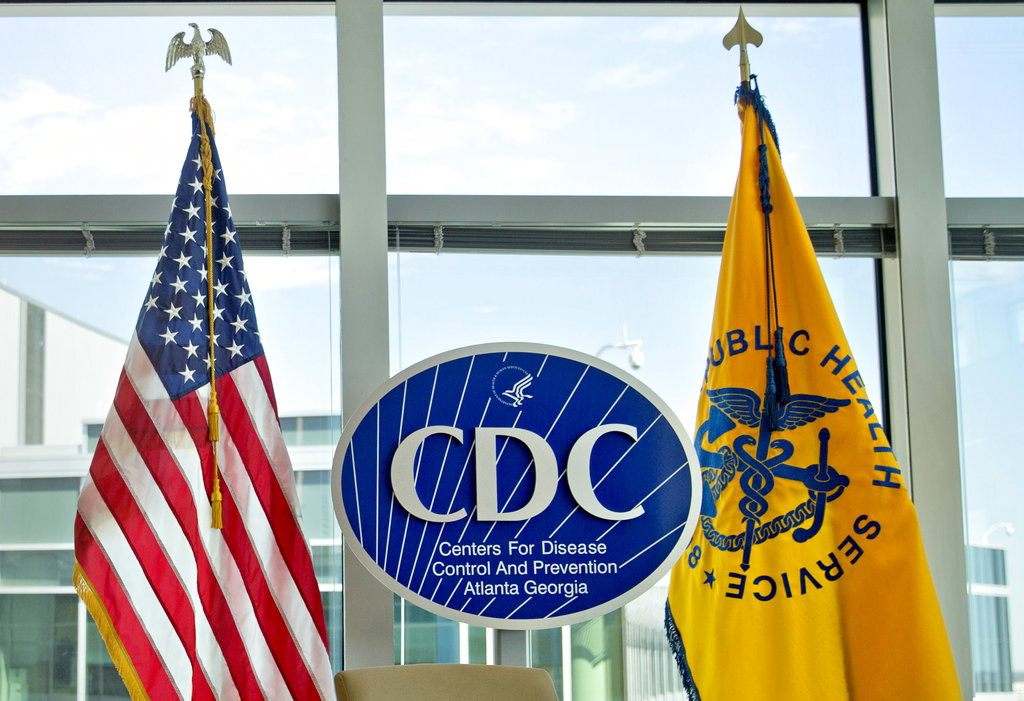 The Centers for Disease Control and Prevention's (CDC) logo.