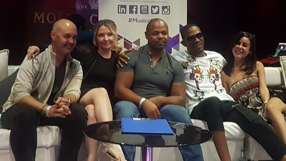 International judges at the MusicTT Showcase on Saturday