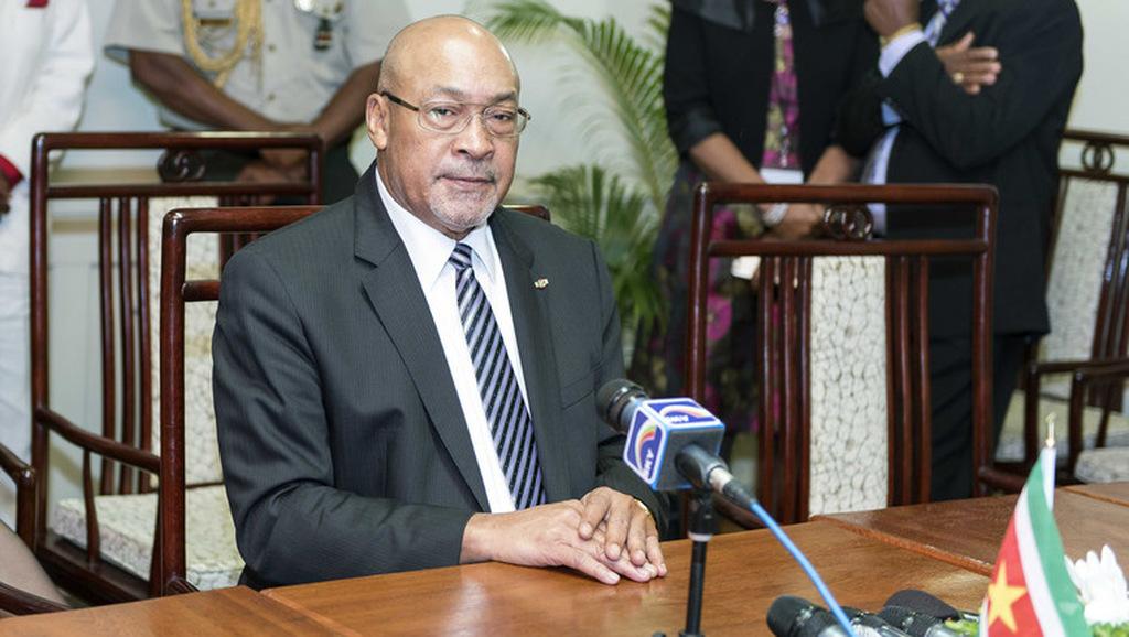 President Desi Bouterse.