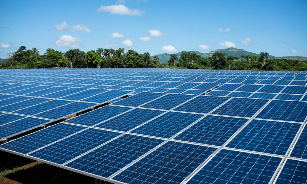 File photo of solar panels.