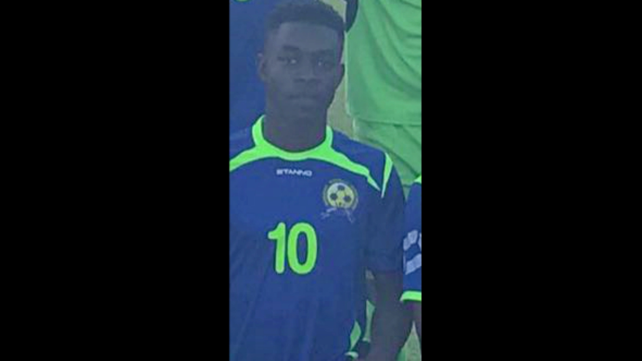 Thierry Gale of the is the Barbados Secondary School Football League (BSSFL) Player of the Week.