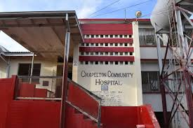 A frontal view of the Chapelton Hospital in Clarendon.