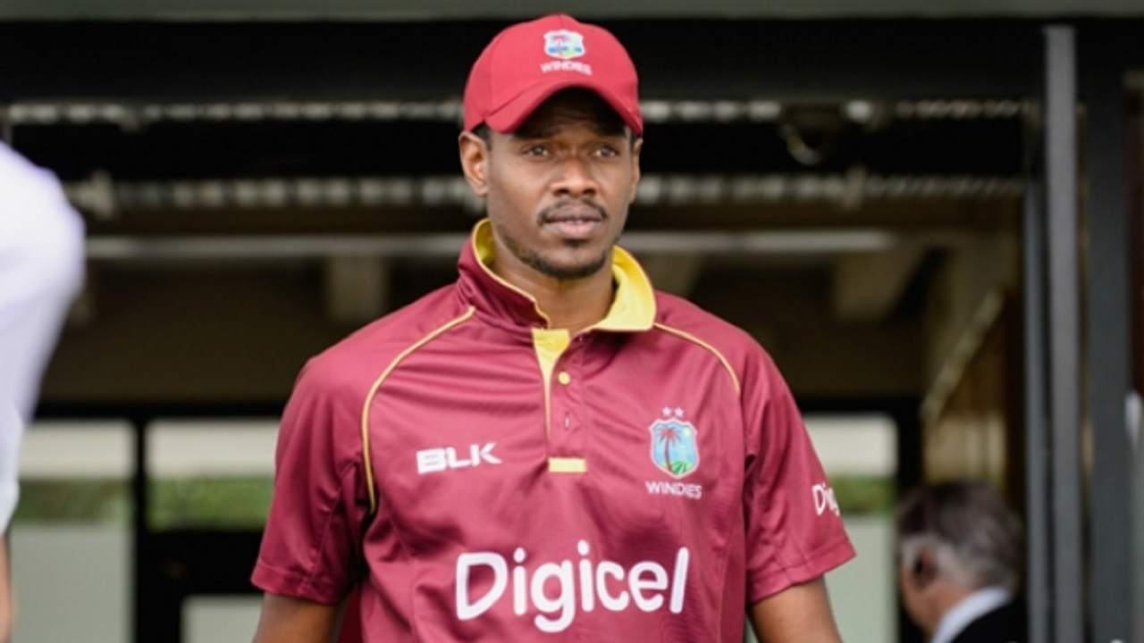 West Indies fast bowler Ronsford Beaton.