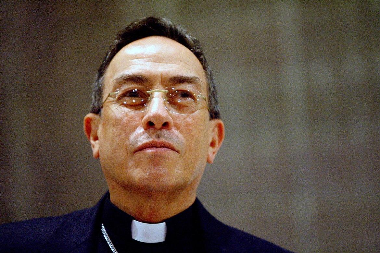 Le cardinal hondurien Oscar Maradiaga