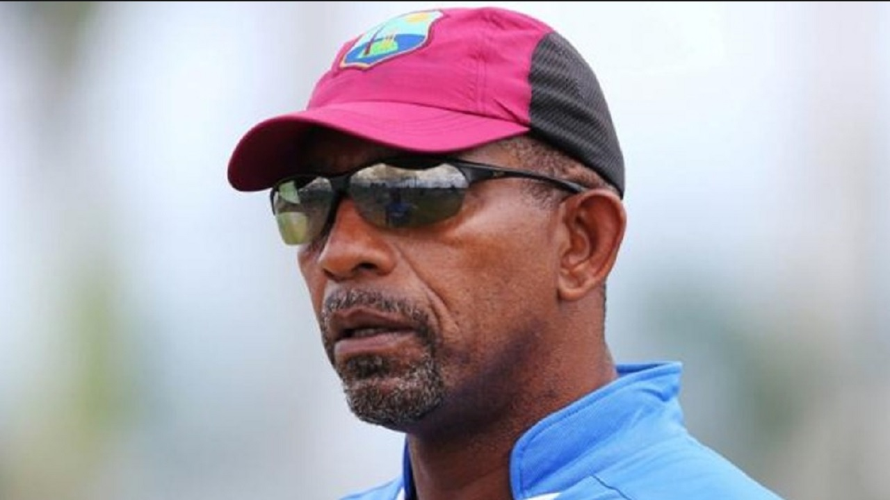 Former West Indies coach, Phil Simmons.