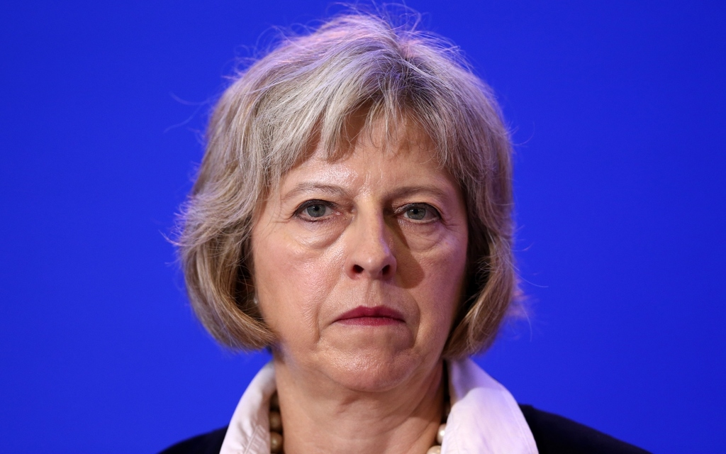 Britain's Prime Minister, Theresa May.