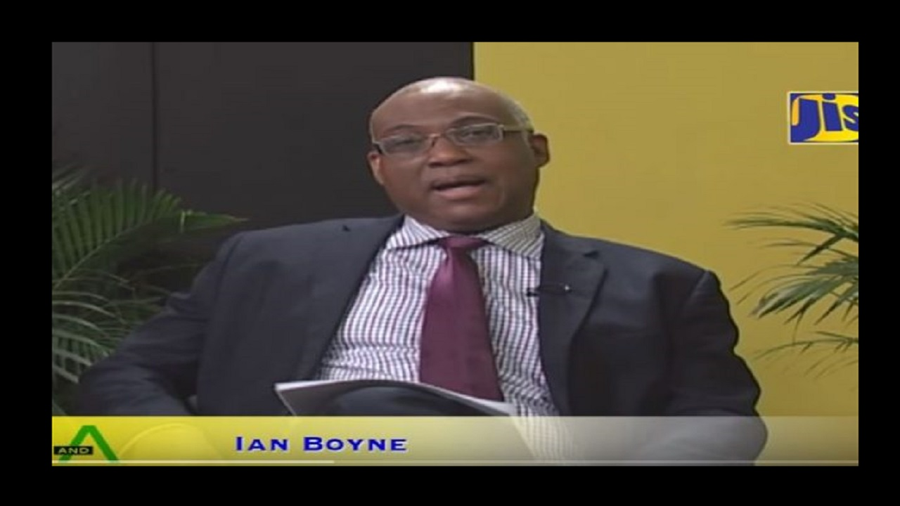 Ian Boyne (Photo credit: Jamaica Information Service).