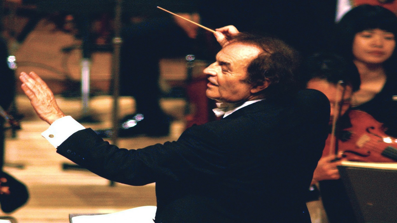 Renowned conductor Charles Dutoit.