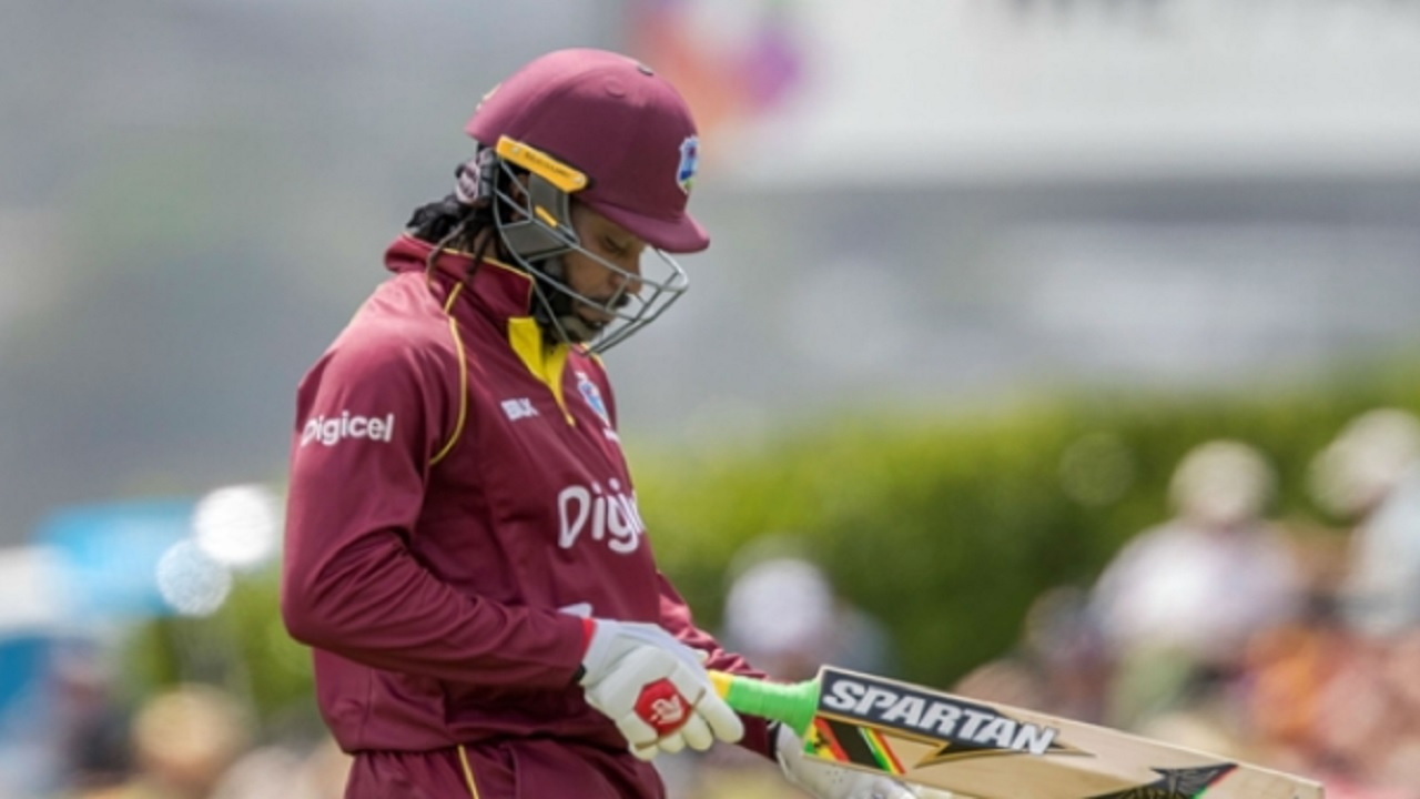 West Indies opener Chris Gayle.