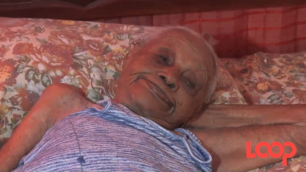 Ida Troupe, Jamaica's oldest living person celebrated her 117th birthday on Christmas Day.