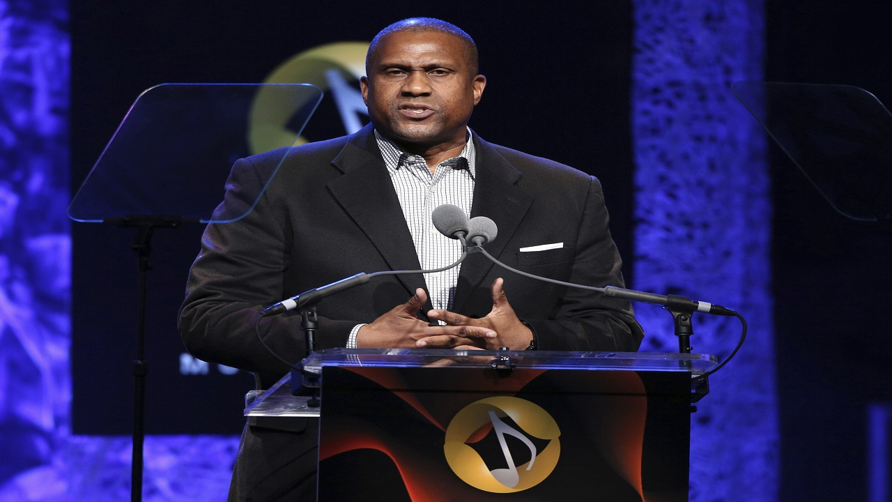 "In this April 27, 2016 file photo, Tavis Smiley appears at the 33rd annual ASCAP Pop Music Awards in Los Angeles. PBS says it has suspended distribution of Smiley's talk show after an independent investigation uncovered ""multiple, credible allegations"" of misconduct by its host. (Photo by Rich Fury/Invision/AP, File)"